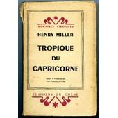 Tropique Du Capricorne de Henry Miller
