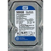 WD Blue WD5000AAKX-60U6AA0 HD 500 Go 7.2K SATA3 6Gb
