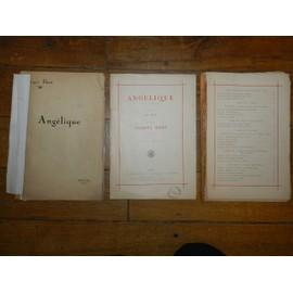 Partition dédicacée d'Angélique de de Jacques Ibert et deux lettres autographes
