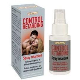Aphrodisiaque Pour Homme : Spray Retardant L'ejaculation Control Retarding - 50 Ml