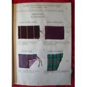 Catalogue Soieries �t� 1940 Envoi I de collectif