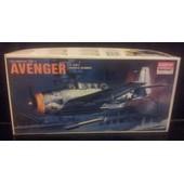 Grumman Tbf-1 Avenger Us Navy Torpedo Bomber-(Limited �dition Maquette Avion)(1/72)(Academy/Minicraft)(Original)(Kor�e)