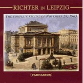 Richter In Leipzig: Piano Sonatas - Beethoven