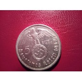 5 Reichsmark Argent 1937 J