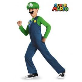 D�guisement Luigi Enfant (Super Mario Bros) (Taille 7 � 8 Ans) Tv Films Et Jeux Vid�o