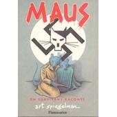 Maus 1 Et 2 - Art Spigelman - Lot Volumes Originaux
