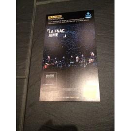 PLACEBO MTV UNPLUGGED CARTON RIGIDE 2015 FNAC