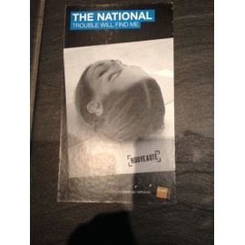 THE NATIONAL TROUBLE WILL FIND ME PLV FNAC CARTON RIGIDE
