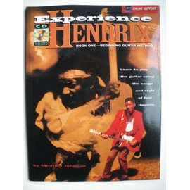 EXPERIENCE HENDRIX beginning guitar methode + CD