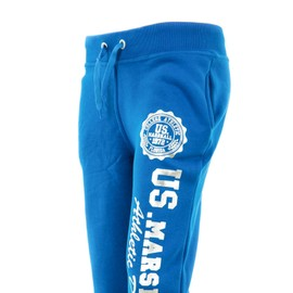 Joggings Hommes Us Marshall Bleu