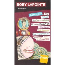 PLV cartonnée rigide 14x25cm BOBY LAPOINTE chanté par ...... / magasins FNAC