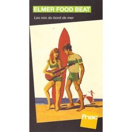 PLV cartonnée rigide 14x25cm ELMER FOOD BEAT les rois du bord de mer / magasins FNAC
