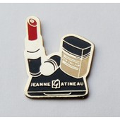 Pin's Cosm�tique Beaut� Jeanne Gatineau