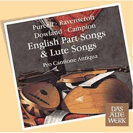 Purcell in the Ale house : English part songs & lute songs