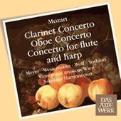 Concerto Pour Fl�te Et Harpe K.299, Concerto Pour Hautbois K.314, Concerto Pour Clarinette K.622 - Wolfgang Amadeus Mozart