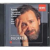 Transcriptions & Paraphrases D'operas De Verdi, Mozart, Rossini Duchable, Piano - Franz Liszt