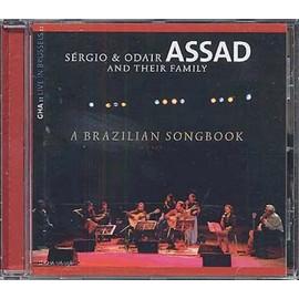 A Brazilian songbook : Arrangements de pièces de Edu Lobo, Paulo Bellinati, Egberto Gismonti, Jeff Young, Chico Buarque