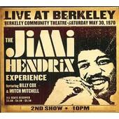 Live At Berkeley Community Theatre - Saturday, May 30, 1970 - Jimi Hendrix