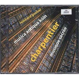 Musique sacrée : Messe pour plusieurs instruments, Symphonies pour un reposoir, Marche de triomphe, Concert pour quatre partie de violes, Ouverture pour l'Eglise, Offertes H514 et H522