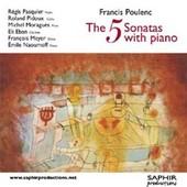 Sonate Pour Clarinette Et Piano, Sonate Pour Fl�te Et Piano, Sonate Pour Violon Et Piano, Sonate Pour Violoncelle Et Piano, Sonate Pour Hautbois Et Piano - Francis Poulenc
