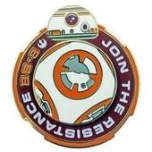 Pins Disney Star Wars 7 Medaille Bb8 Spinner Disneyland Paris Pins Trading
