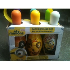 Quilles Boowling Minions Gel Douche Shampoing