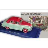 Voiture Tintin Le Taxi Simca Aronde De L'affaire Tournesol �ditions Atlas