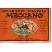 Catalogue General Meccano Modeles Pieces