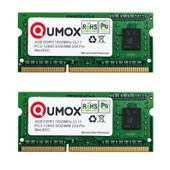 QUMOX 8Go 8G (2x 4 Go) DDR3 1600MHz PC3-12800 (204 broches) SO-DIMM M�moire