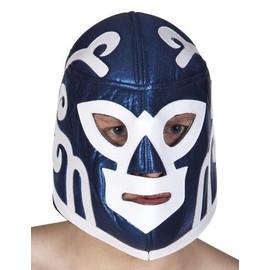 Masque Catcheur Bleu Adulte,