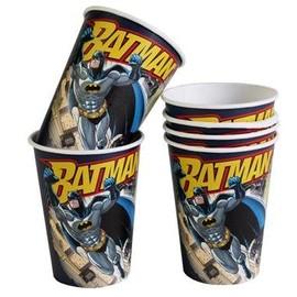 6 Gobelets Carton Batman? - 63043