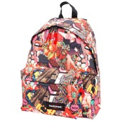 Sac � Dos Coll�ge Eastpak Padded Girl Rock Print Rouge 58278