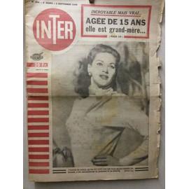 Inter 204 (Yvonne De Carlo, Assistance Publique, Montmartre, Mlle Belletoile)