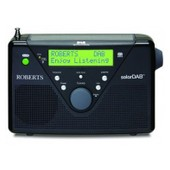Radio portable Solaire SolarDAB2 noire DAB Plus FM Chargeur interne ROBERTS