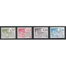 France Timbres preobliteres  PR174**/177** Y.&.T. = 3,50 euro
