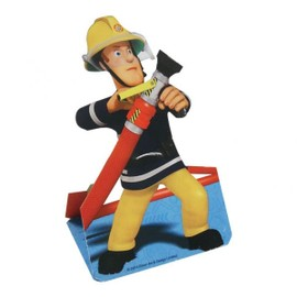 8 Cartes D'invitation Sam Le Pompier.