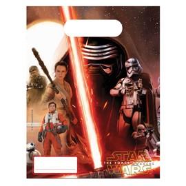 6 Sacs Cadeaux Star Wars Vii.