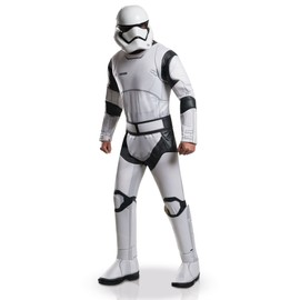 D�guisement Adulte Luxe Stormtrooper White - Star Wars Vii.