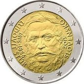 2 Euros Comm�morative Slovaquie 2015 - 200 Ans Stur - Pi�ce Neuve