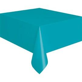 Nappe Rectangulaire En Plastique Bleu Cara�be