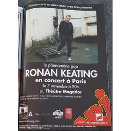 poster a4 ronan keating