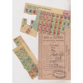 Carte De V�tements Et Tickets