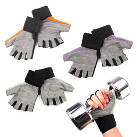 Gants Rembourre Poignet Protege Fitness Musculation Gym Crossfit Pull Up