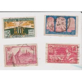 8e Olymiad 1924, Exposition internationale 1925, centenaire algérie, le puy en velay