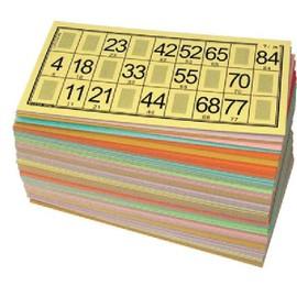 Pack 125 Cartons Loto Rigides