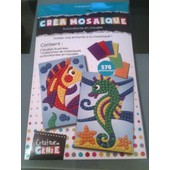 Mosaique - Autocollants En Mousse Poisson