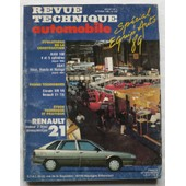Revue Technique Automobile 508 - �tude Tech. & (Et) Pratique De La Renault 21 (R21) - Mot. 2 Litres