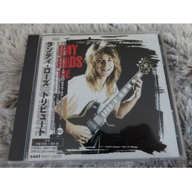Randy Rhoads Tribute CD Japon Les grands du Hard Rock reprennent les succés de Randy Rhoads