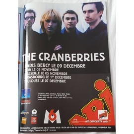 poster a4 the cranberries
