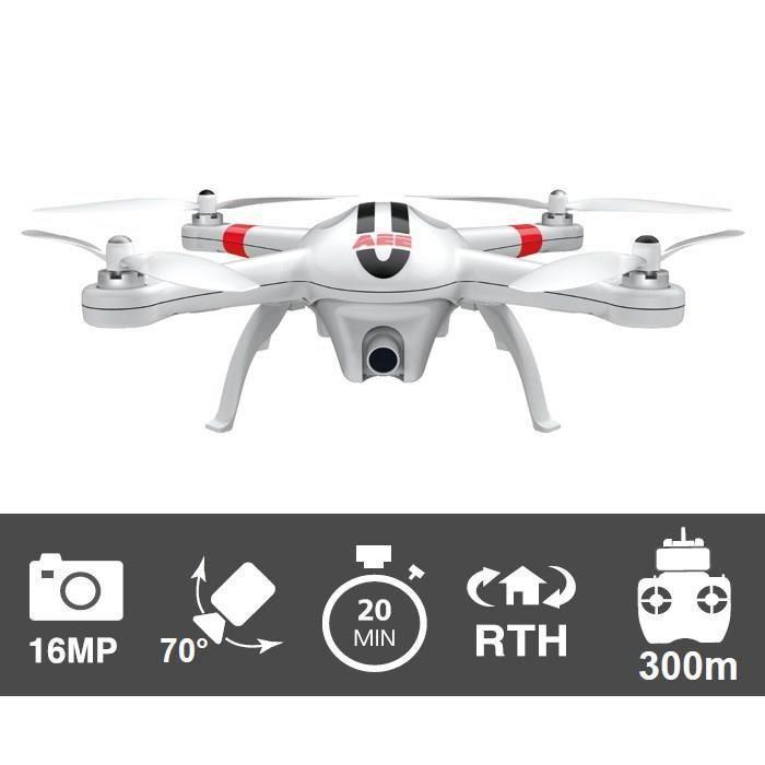 PNJ AP10 PRO Drône caméra intégrée Full HD GPS
